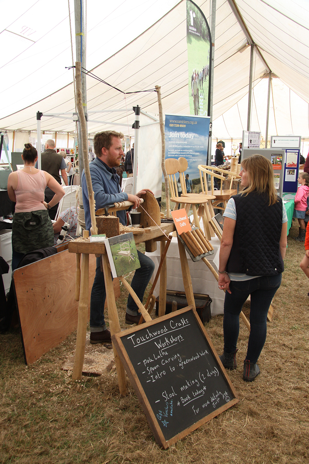 White Horse Show - Uffington - Oxfordshire - County - Country - Show - Craft stalls