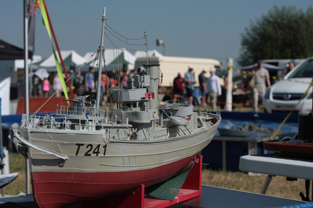White Horse Show - Uffington - Oxfordshire - County - Country - Show - Model boats